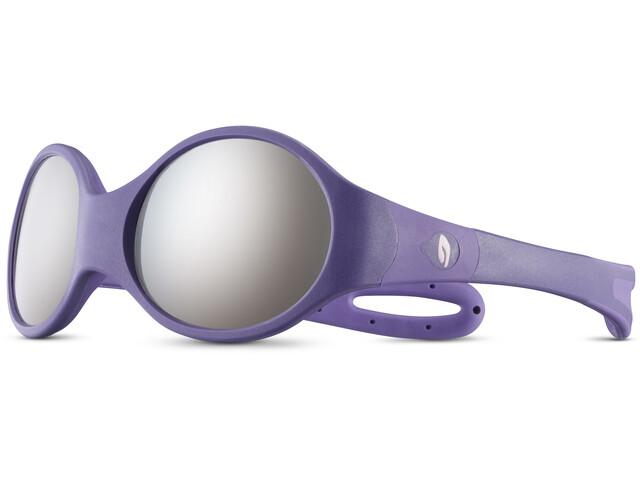 Julbo Loop L Spectron 4 Aurinkolasit Lapset, dark purple/purple/grey flash silver